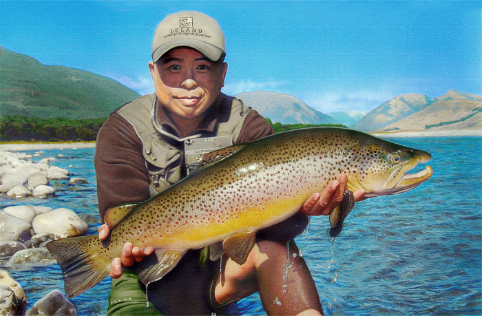 martinsimpsonartist.com Angler portrait